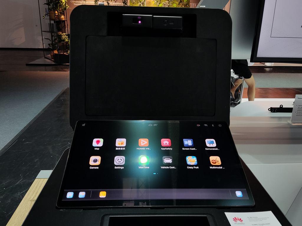 Huawei HarmonyOS na ekranie samochodu