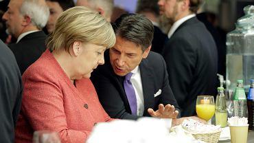 Włoska telewizja upubliczniła rozmowę Angeli Merkel i Giuseppe Contego