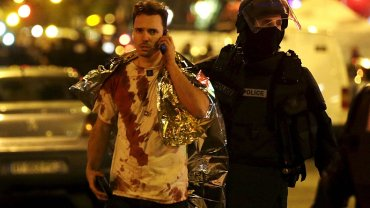 Zamachy w Paryżu. Jedna z ofiar