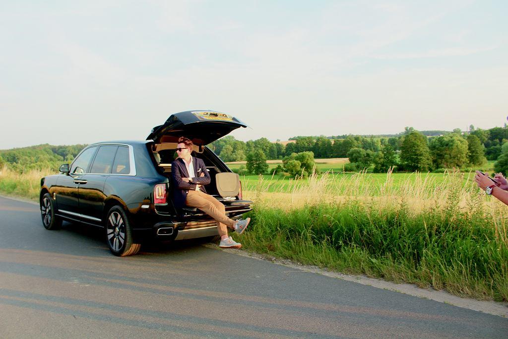 Rolls-Royce Cullinan. Gdzieś na trasie pomiędzy Monachium a Warszawą.