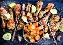 Kurczak cytrusowy z kardamonowymi marchewkami - ugotuj