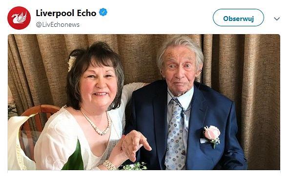 Donald i Margaret Kerr - nowożeńcy