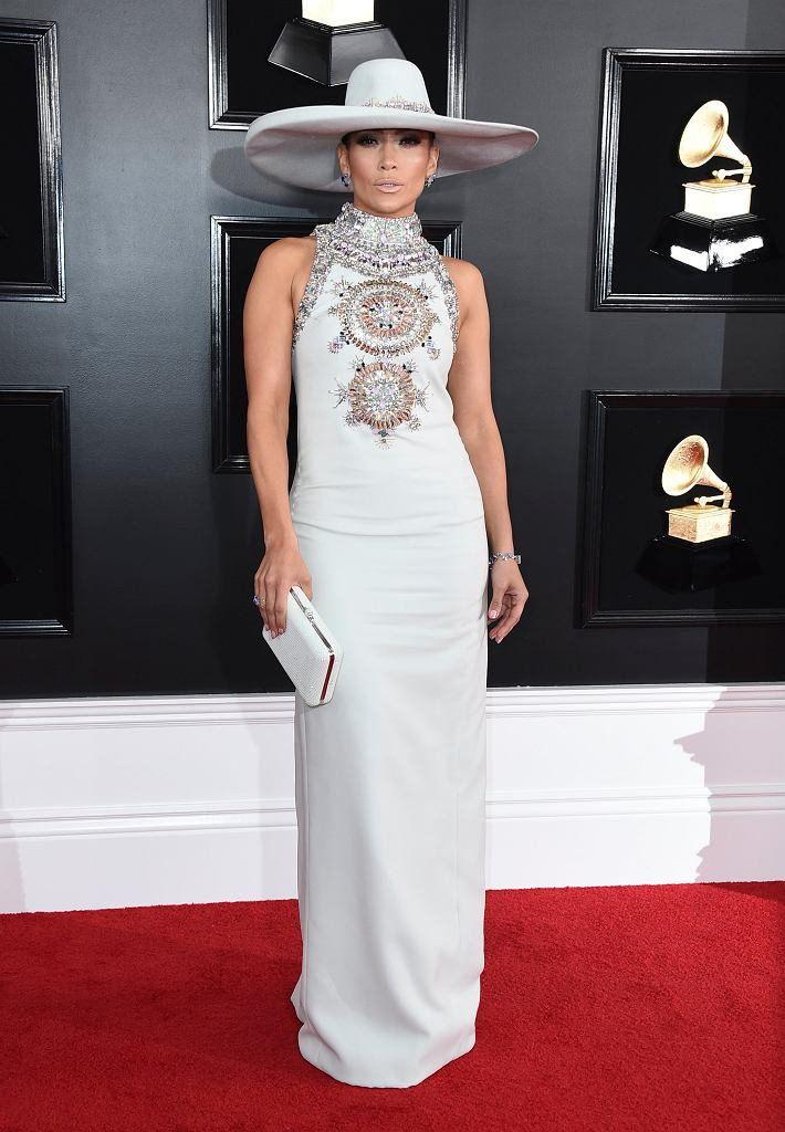 Jennifer Lopez na gali Grammy