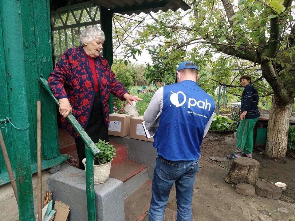 Pomoc PAH w Ukrainie