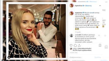 Olga Kalicka wybrała się z partnerem na randkę. Świętowali jego urodziny