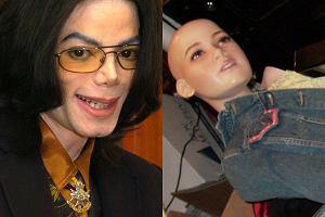 Michael Jackson i wnętrze z jego posiadłości