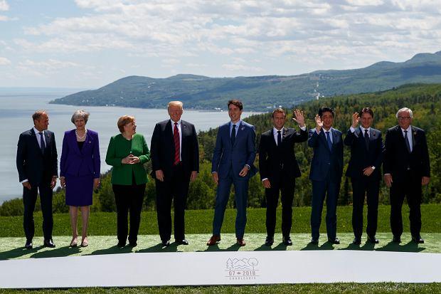 Liderzy państw G7 na spotkaniu w Kanadzie