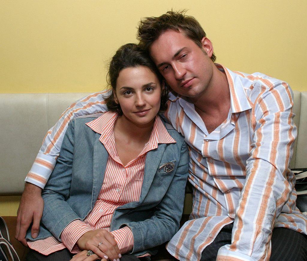 Marcin Prokop z żoną