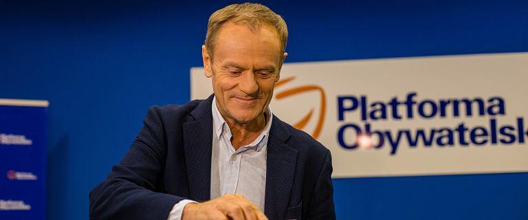 Donald Tusk zdradził, na kogo oddał swój głos w wyborach szefa PO