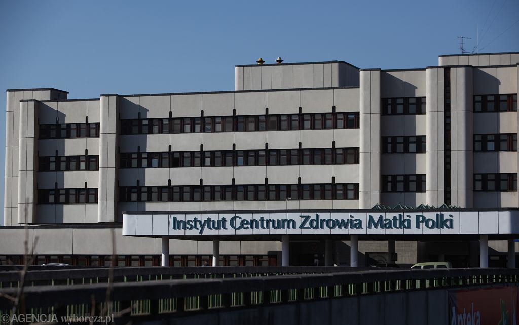 Instytut Centrum Zdrowia Matki Polki. ZdjÄ™cie ilustracyjne