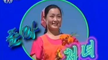 Domniemane zdjęcie Hyon Song-wol, śpiewaczki skazanej na karę śmierci