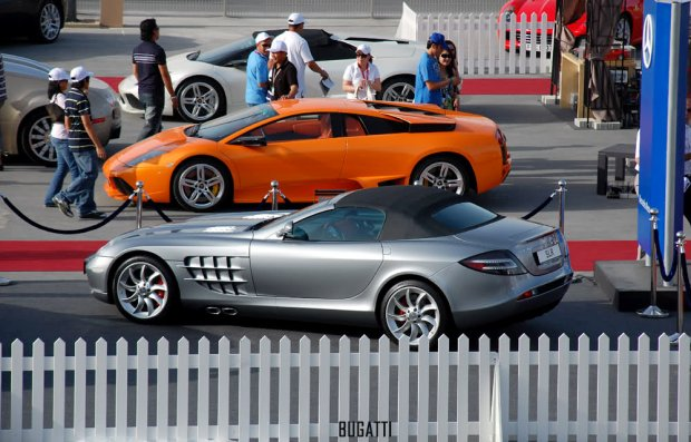 Lamborghini i Mercedes