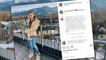 Marina Łuczenko wypoczywa z synem w Zakopanem.