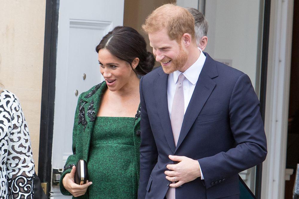 Meghan Markle wraz z księciem Harrym podczas wizyty w Kanadzie 11 marca 2019