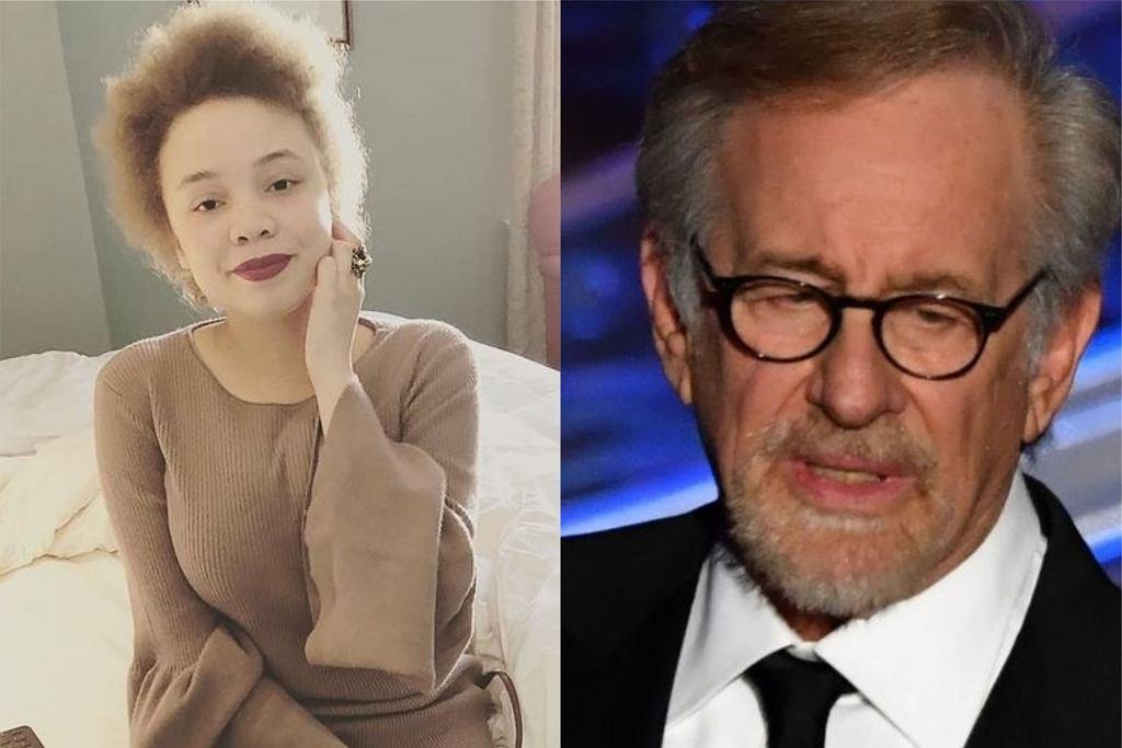 Steven i Mikaela Spielberg