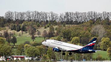 Suchoj Superjet 100 latający w liniach Aerofłot