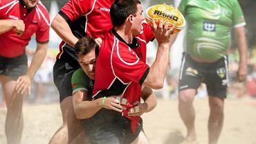 Puchar Polski w rugby na plaży (Olsztyn 2015)