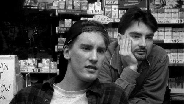 'Sprzedawcy' ('Clerks'). reż. Kevin Smith, 1994.