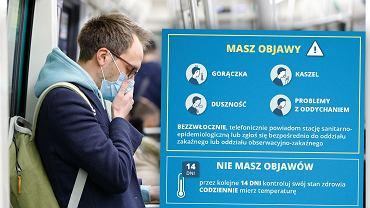 Ministerstwo zdrowia informuje, po czym można poznać zakażenie koronawirusem