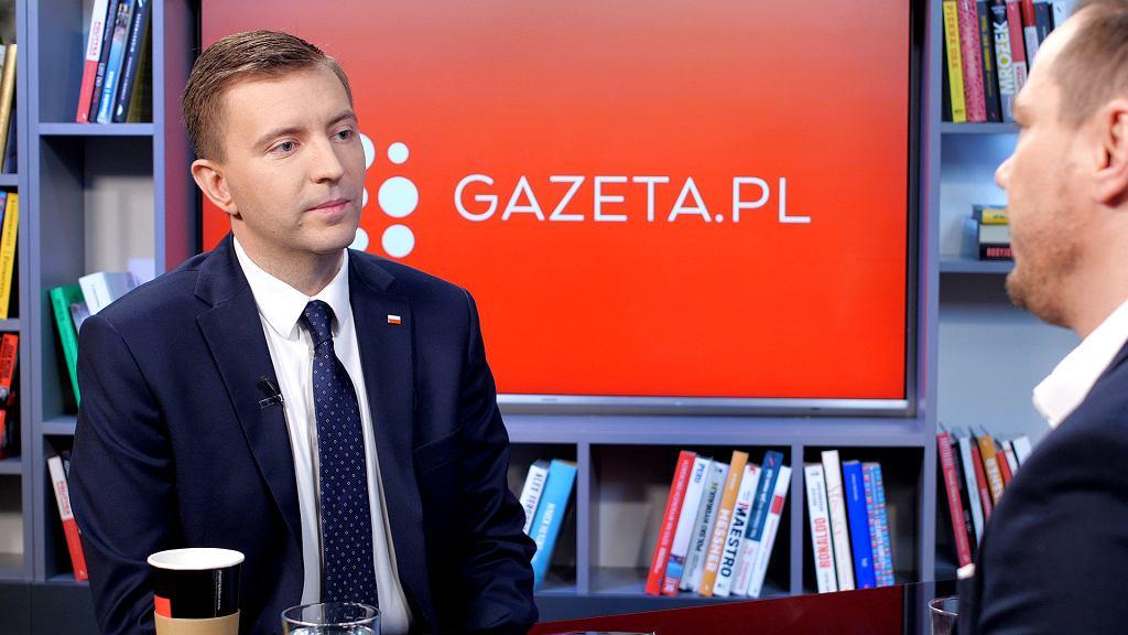 Łukasz Schreiber w poranku Gazeta.pl