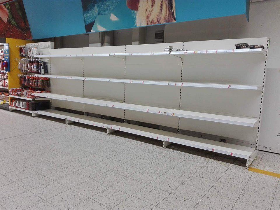 Brak jajek w supermarketach
