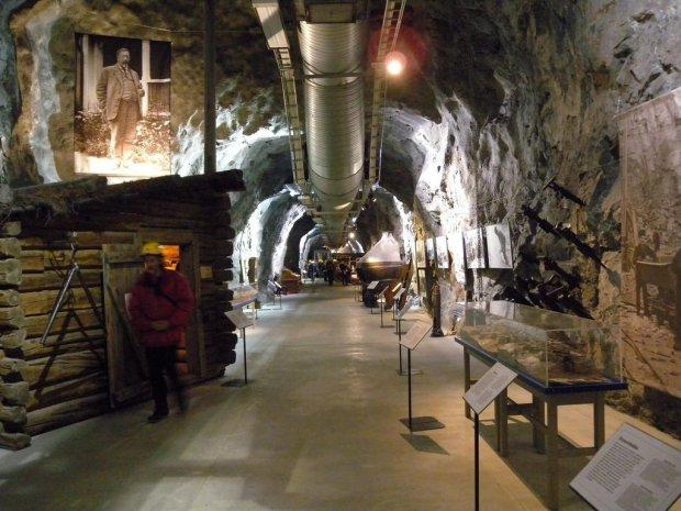 Udostępniona do zwiedzania kopalnia w Kirunie