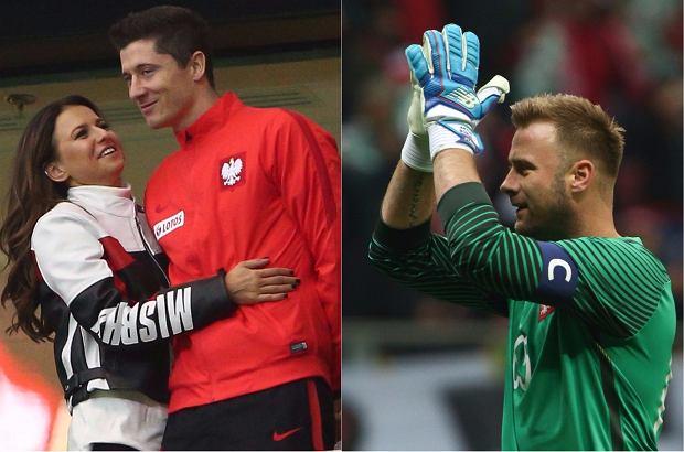 Zdjęcie numer 0 w galerii - Mecz Polska - Urugwaj. Wyjątkowe pożegnanie Boruca. Nie krył łez. Na trybunach Lewandowscy, Marina i... dumna żona