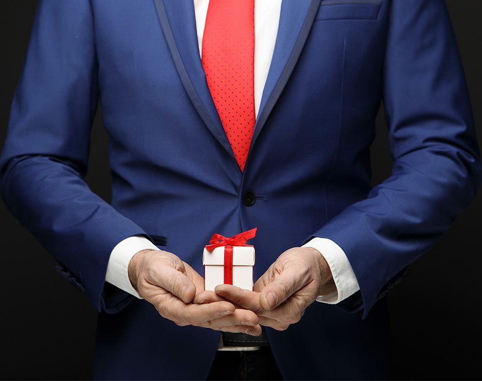 Fot. Prezenty korporacyjne, gettyimages.com