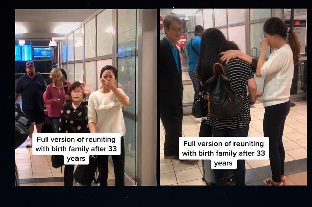 Tata oddał dziecko do adopcji wbrew woli mamy. Emocjonalne spotkanie kobiety z biologiczną mamą