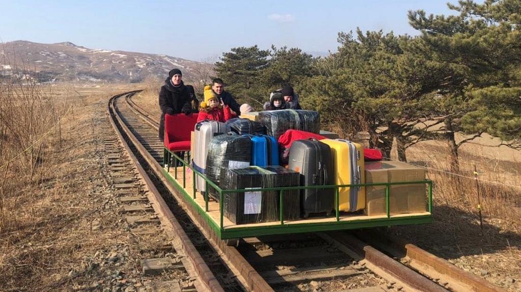 Powrót z Korei Północnej