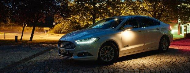 Inteligentne światła Forda
