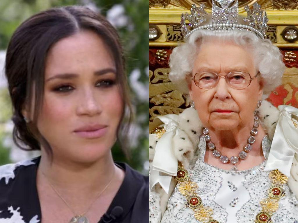 Meghan Markle, Królowa Elżbieta II