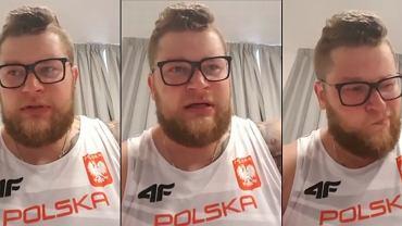 Paweł Fajdek przeprasza kibiców