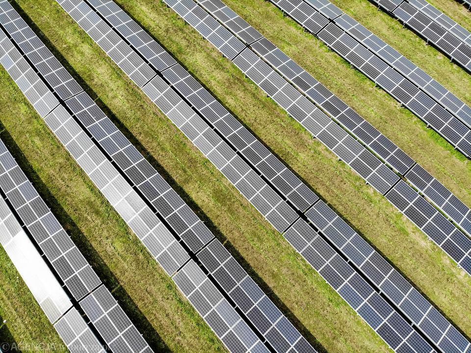 Farma fotowoltaiczna na terenie oczyszczalnii ścieków w Rzeszowie