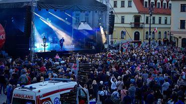 Piknik Europejski 2019 w Płocku. Koncert Grzegorza Hyżego na Starym Rynku