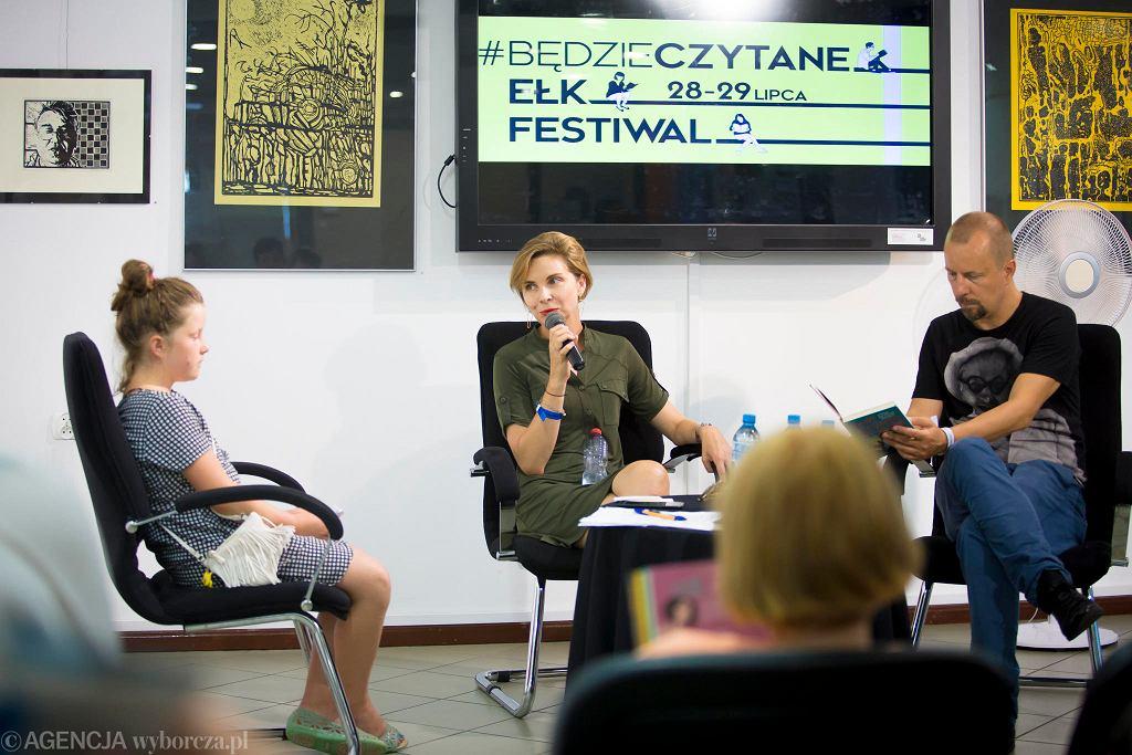 Spotkanie z Anną Dziewit-Meller na festiwalu #bedzieczytane w Ełku / RENATA DĄBROWSKA