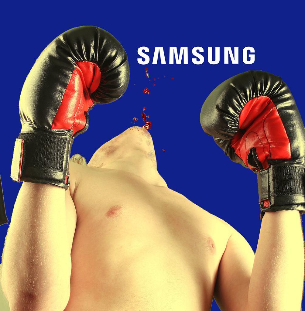 Samsung na deskach