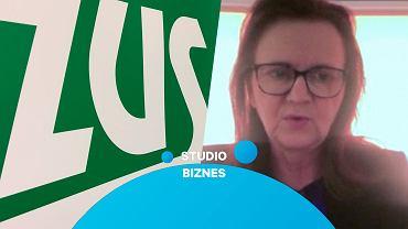 Gertruda Ucińska, prezes ZUS, goszcząc w programie 'Studio Biznes' wyjaśniła którzy przedsiębiorcy mogą starać się o umorzenie składek