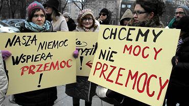 Marsz Pand przeciwko przemocy. Warszawa, grudzień 2014