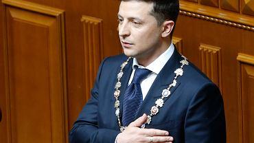 Zaprzysiężenie Wołodymyra Zełenskiego. Nowy prezydent rozwiązał parlament