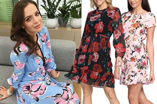 sukienki w kwiaty/mat. partnera/www.instagram.com/aniawendzikowska
