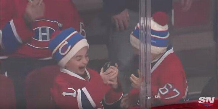 Mali kibice Montreal Canadiens