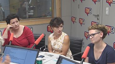 Agata Diduszko-Zyglewska, Renata Kim i Magdalena Chrzczonowicz w TOK FM
