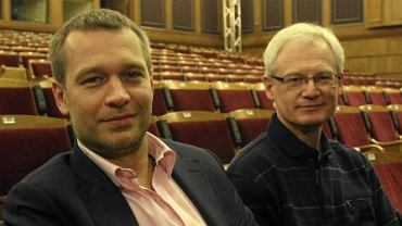 Dyrektorzy Teatru 6. piętro: Michał Żebrowski i Eugeniusz Korin