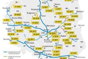 Nowe kontrakty GDDKiA. Ma powstać 1000 km dróg