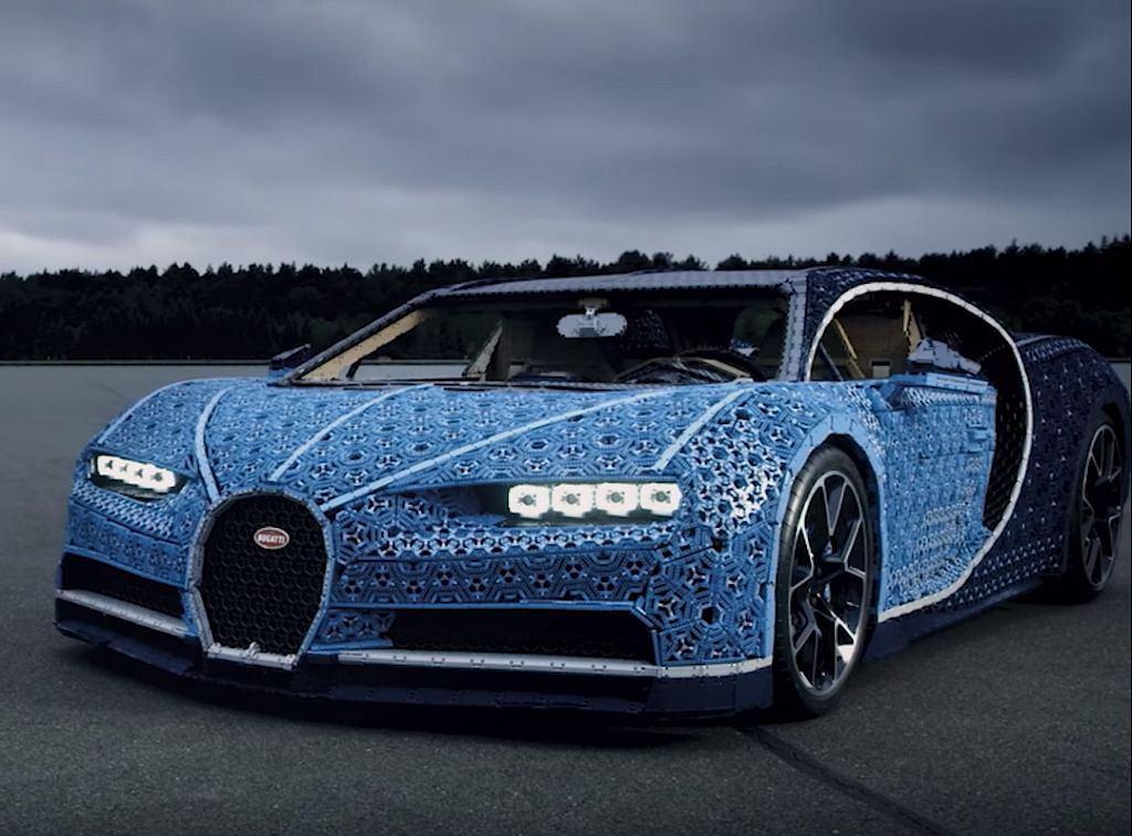 Bugatti z klocków LEGO