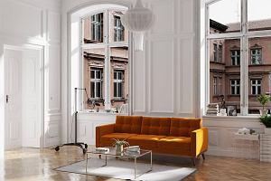 Tapicerowane meble do relaksu w różnych stylach: łóżka, sofy, fotele