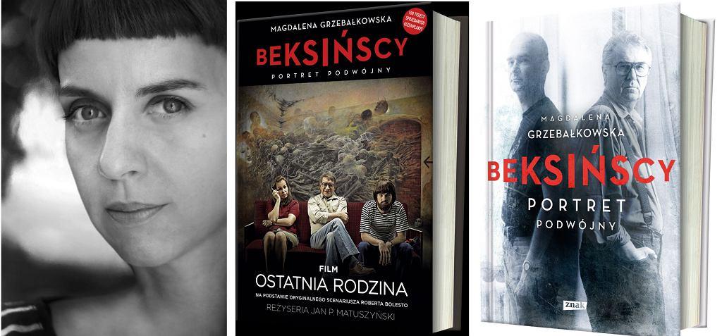 Magdalena Grzebałkowska, Beksińscy. Portret podwójny, wyd. Znak (fot. Agnieszka Traczewska / materiały prasowe / wyd. Znak)