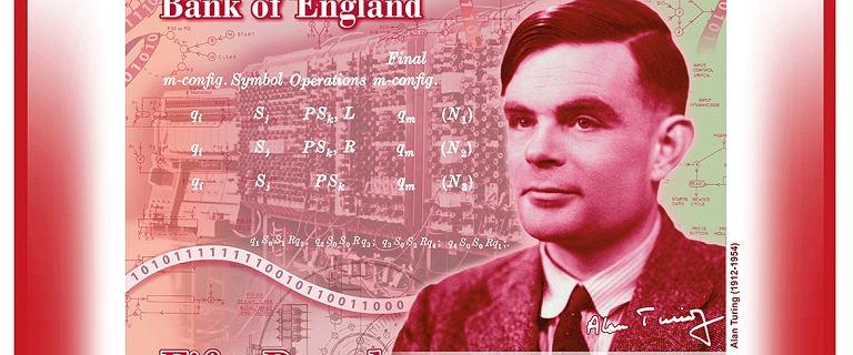 Alan Turing znajdzie się na banknocie 50-funtowym. To on z Polakami złamał kod Enigmy