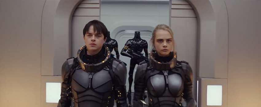 Kadr ze zwiastuna filmu 'Valerian i miasto tysiąca planet' / Screen z youtube.com